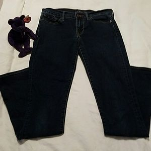 """Lucky Brand """"Sweet n straight""""  size4/27"""